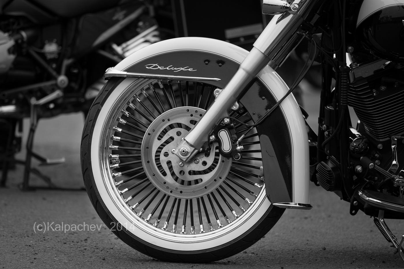 Bike night at Ace Cafe London
