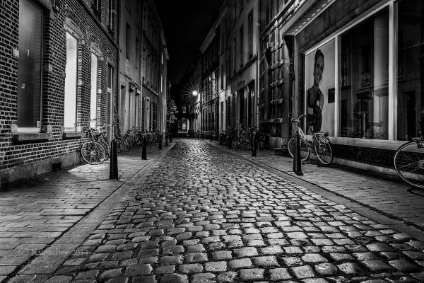 Leuven, Belgium. Just after Sunset