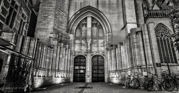 The St. Peter's Church, Leuven, Belgium
