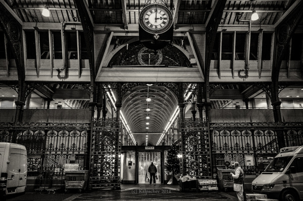 Smithfield meat market, London