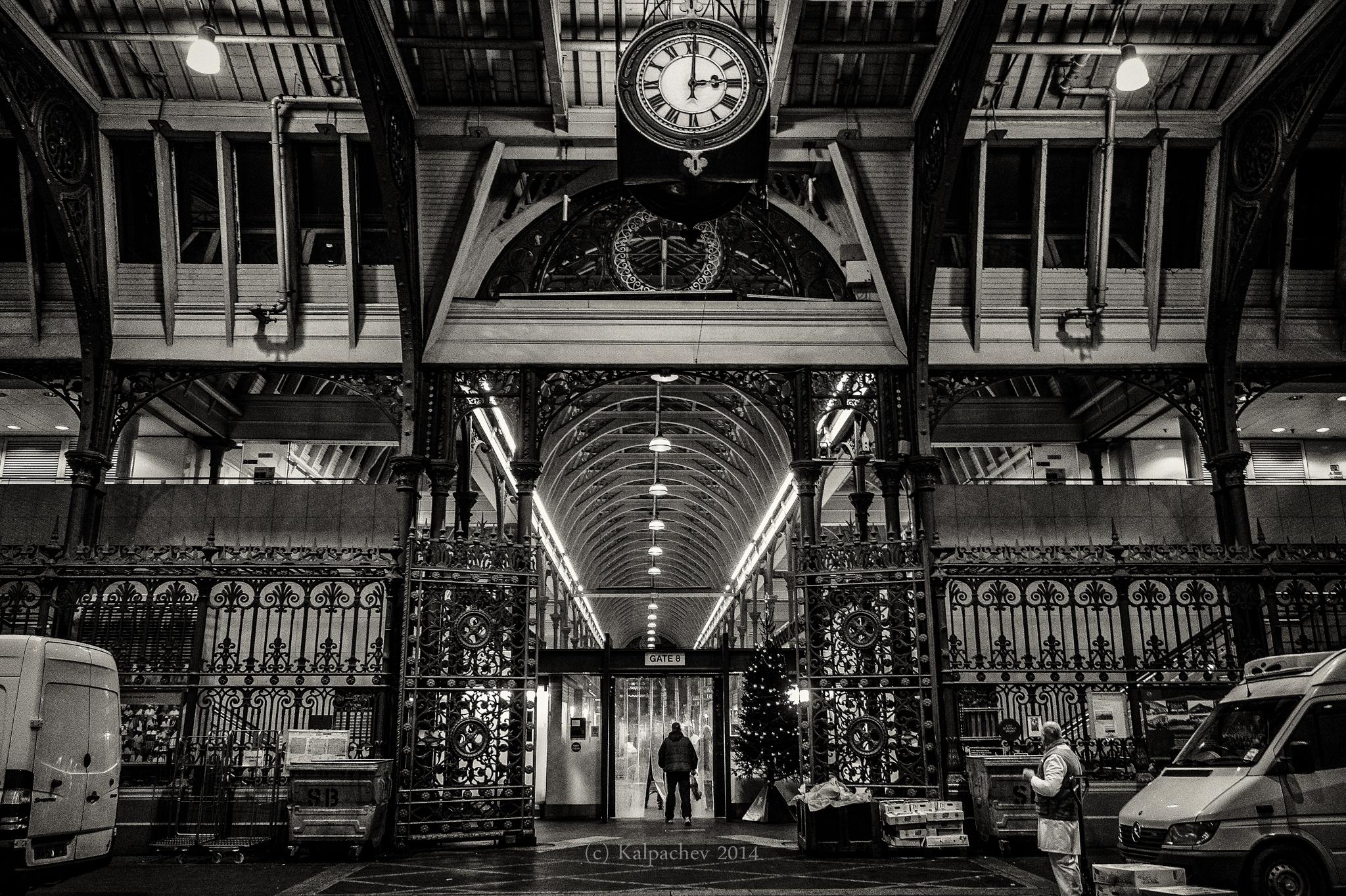 Smithfield meat market, London