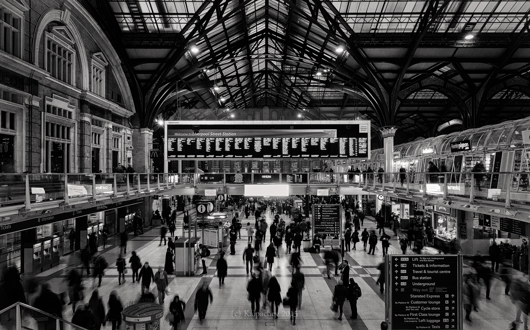 Liverpool Street Station London