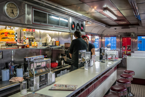 Fatboys Diner in London