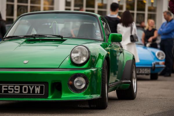 Porsche meet @ Ace Cafe London