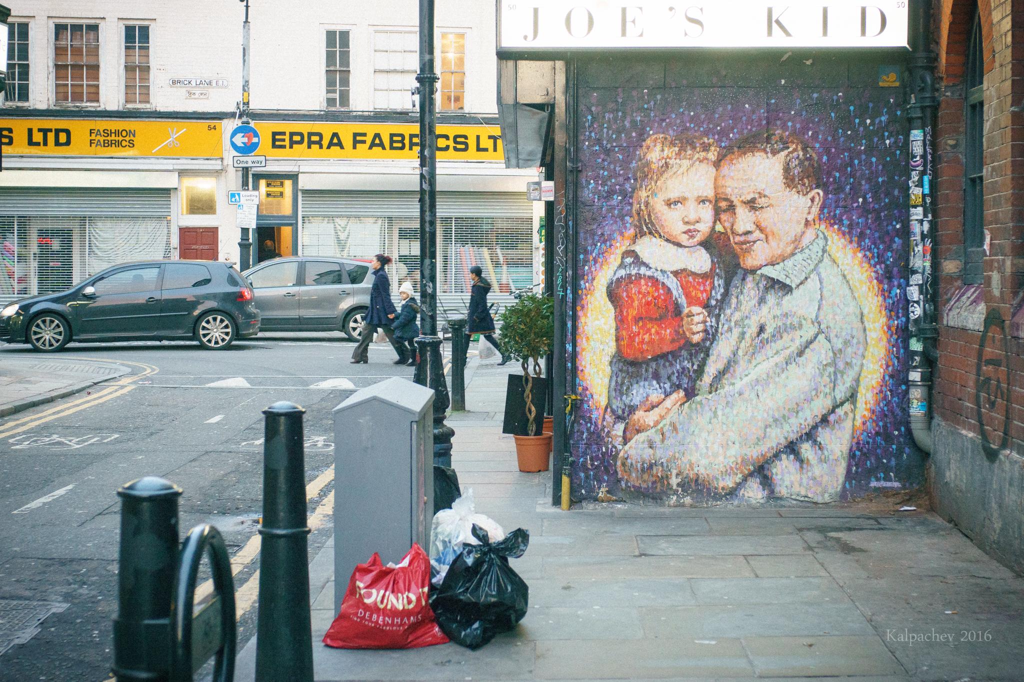 Brick Lane London 2016