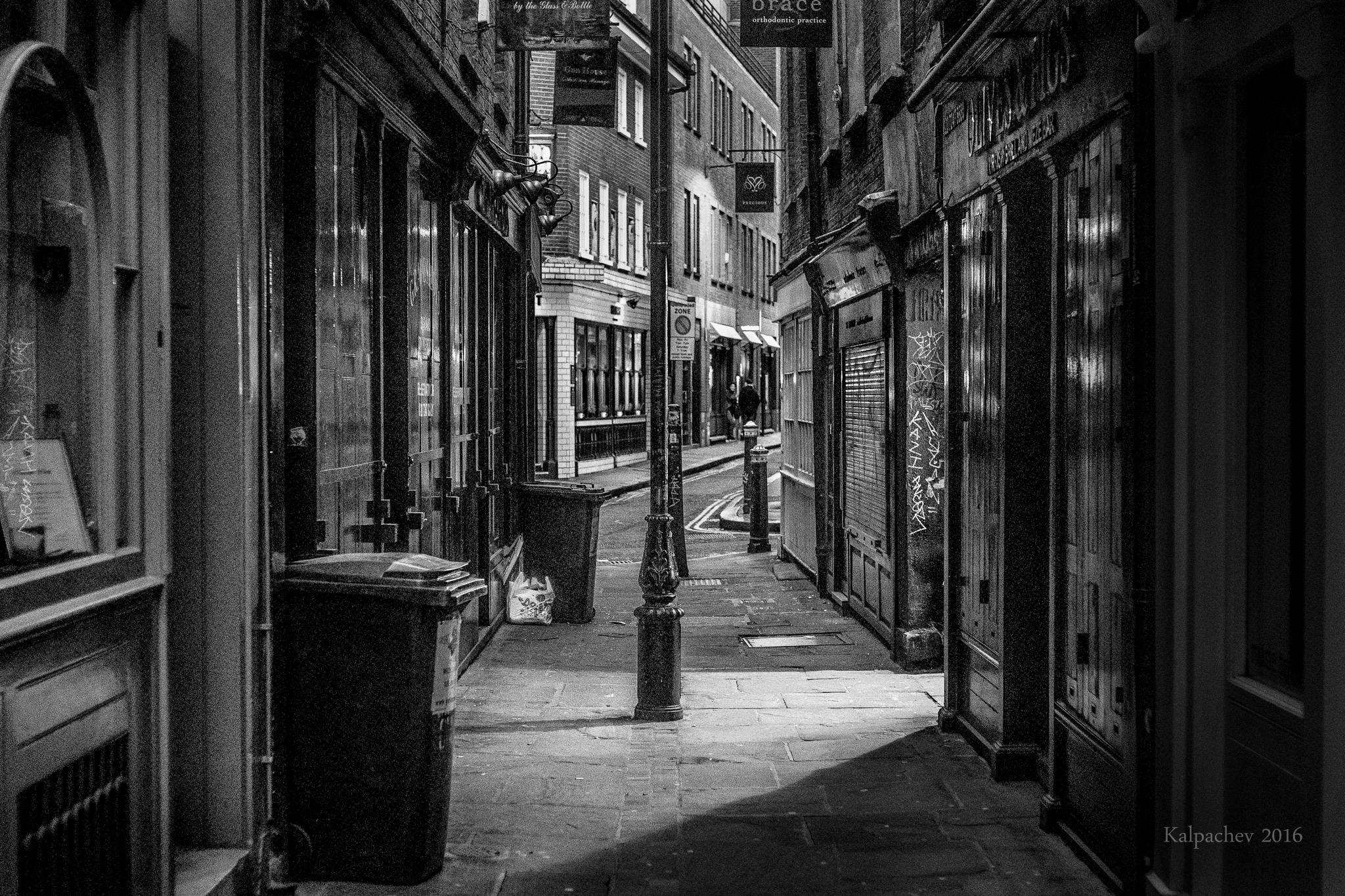 London at night 2016