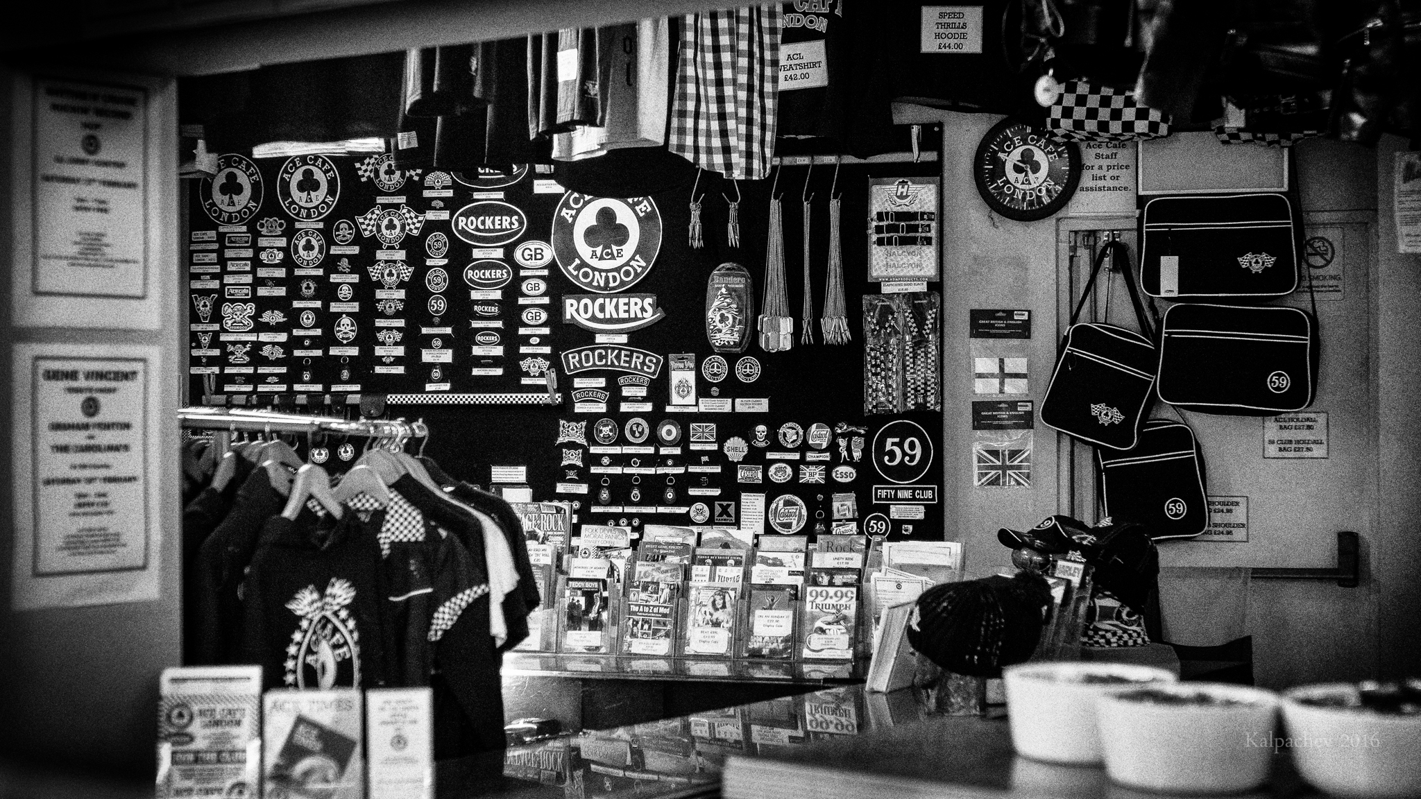 Ace Cafe souvenirs
