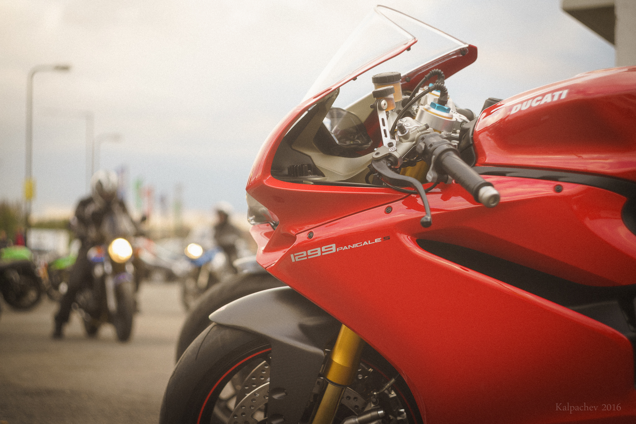 Ducati Superbike 1299 Panigale S at Ace Cafe London