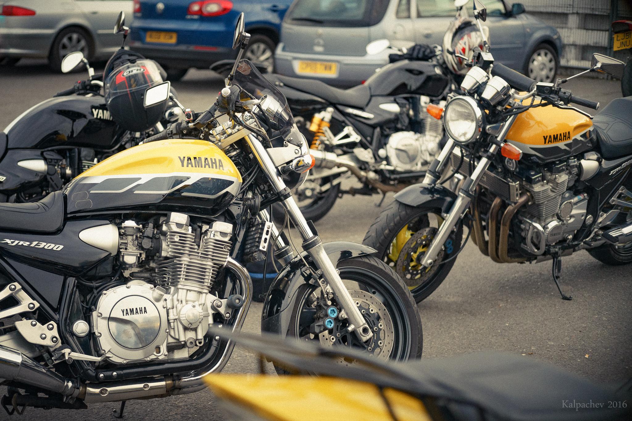 Yamaha xjr 1300 at Ace Cafe London