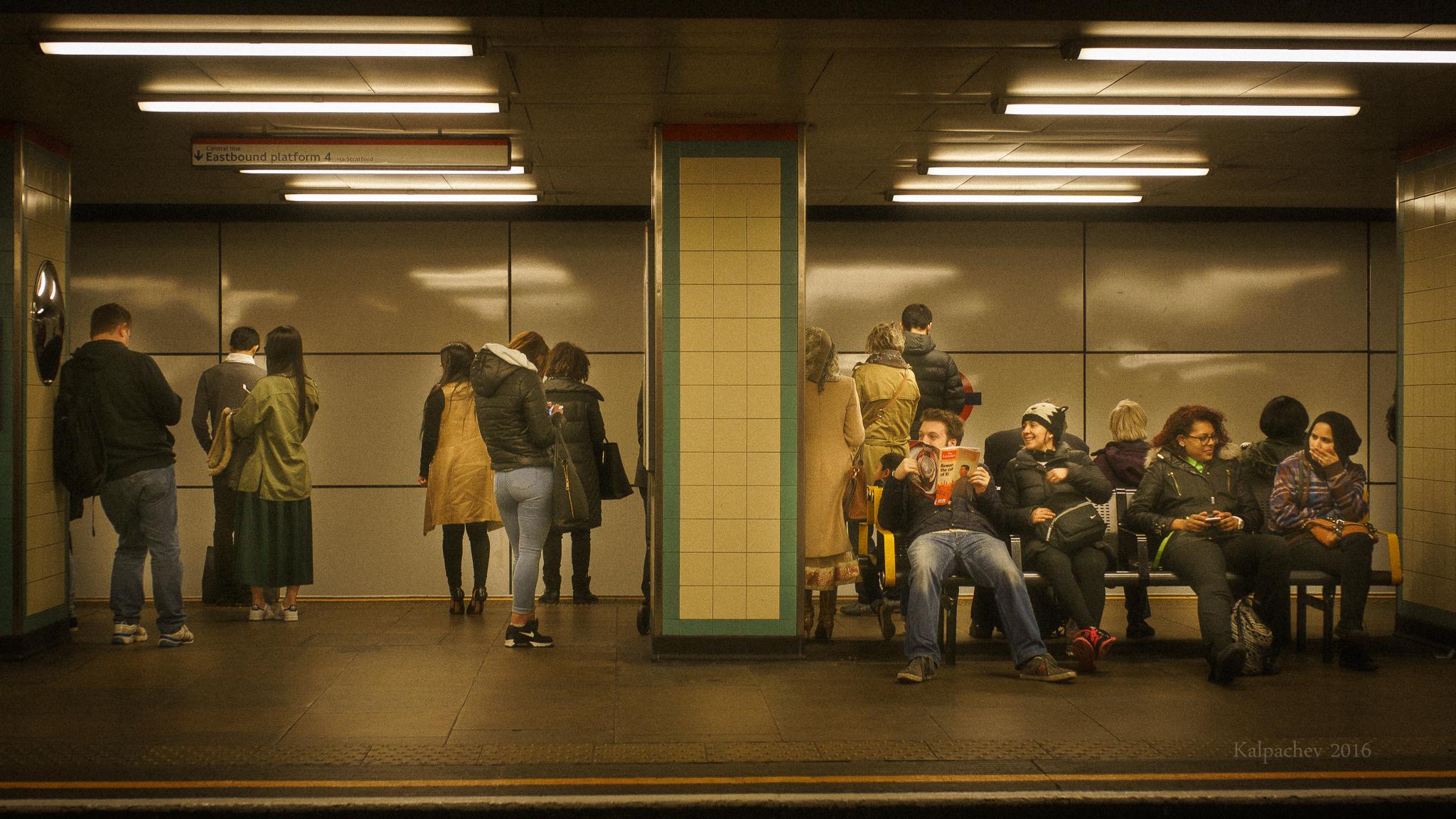 Mile end station – London Underground