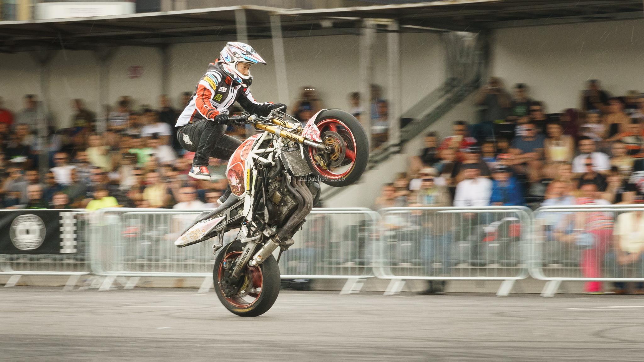OGA Hiroyuki at Stunt Festival & Streetfighter Show 2016 @acecafelondon