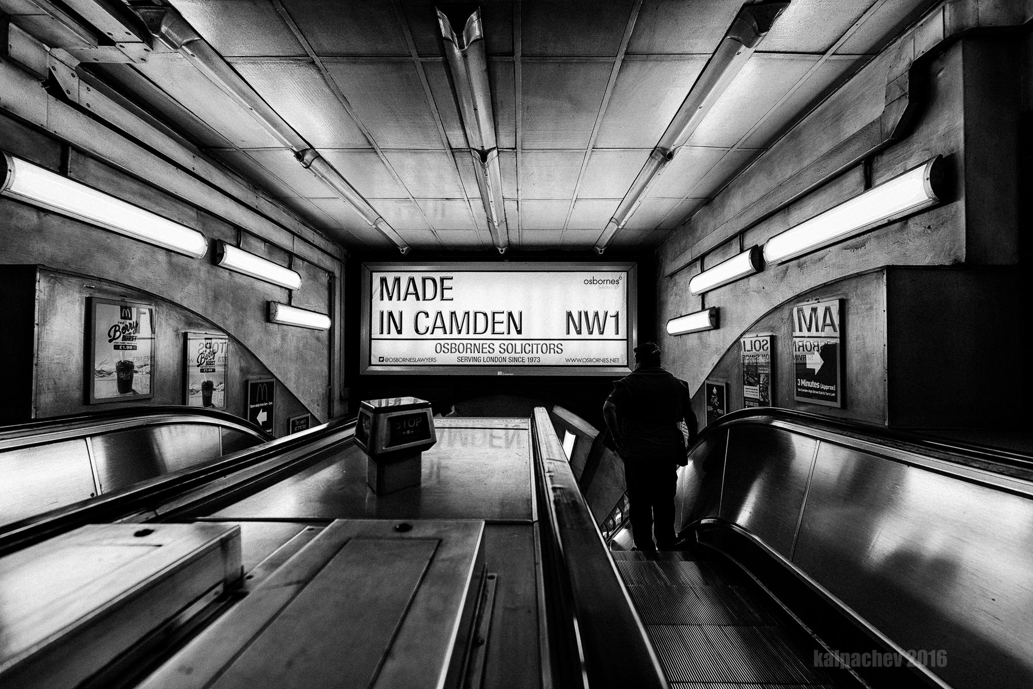 Made in Camden #camden #tfl #londonunderground