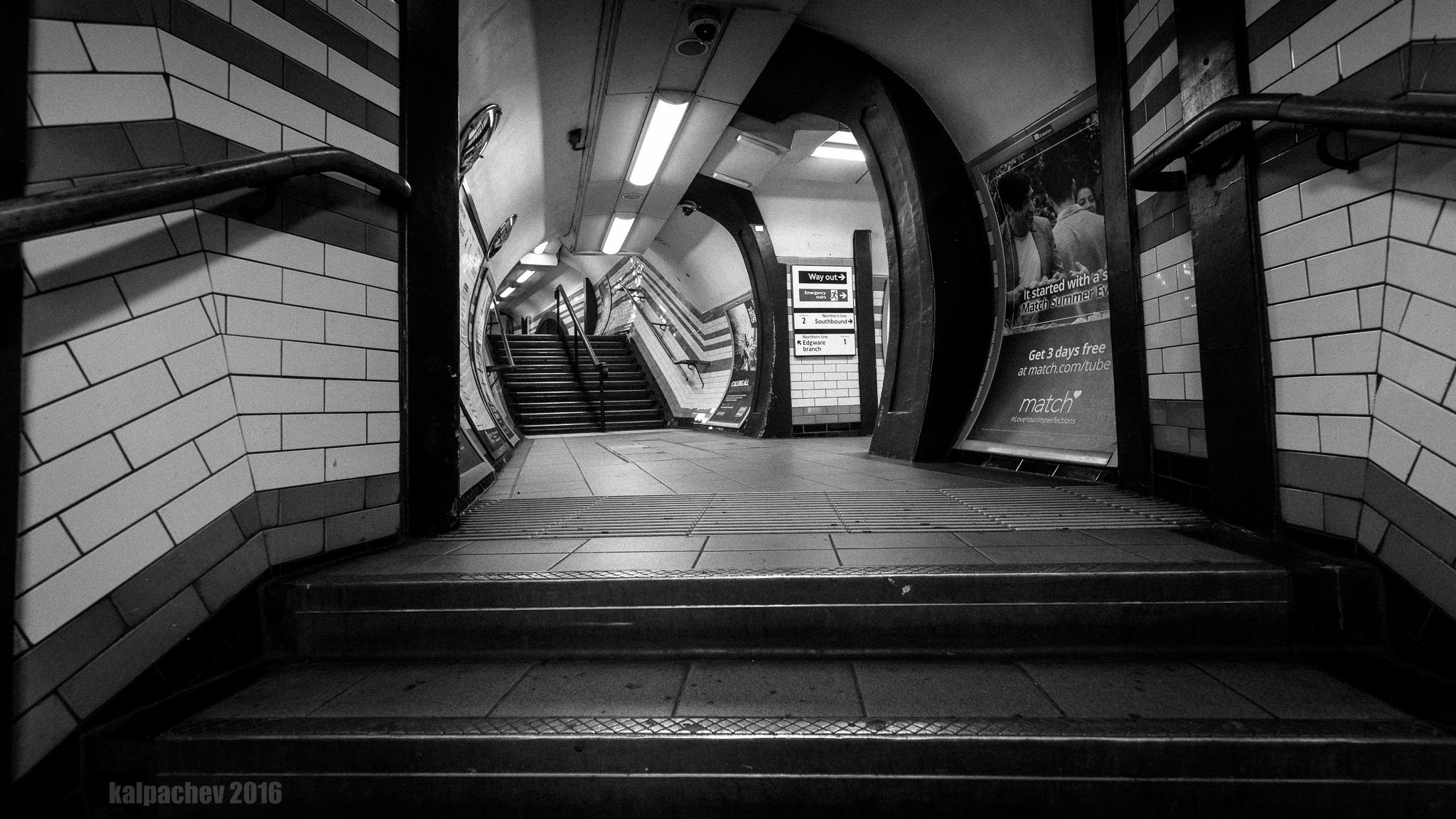 Camden town Underground station at night #camden #tfl #londonunderground #camdentown