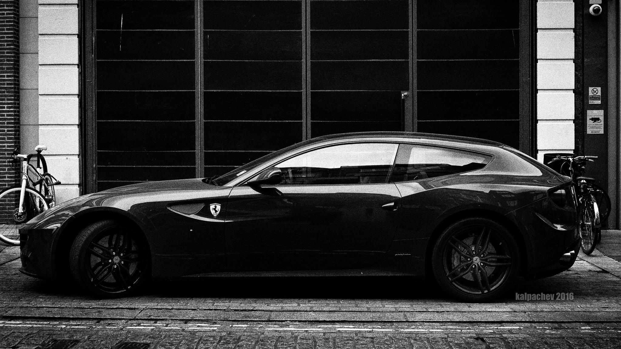 Ferrari in Soho, London