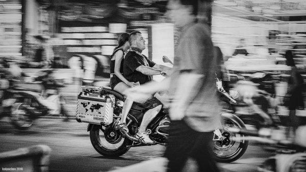 Streets of Pattaya BMW R1200GS