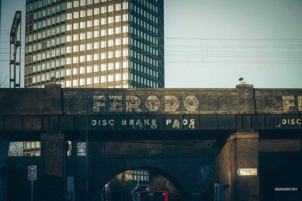 Stonebridge Park Station with Laowa 105mm STF lens