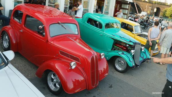 Hot Rod night at the Ace Cafe London