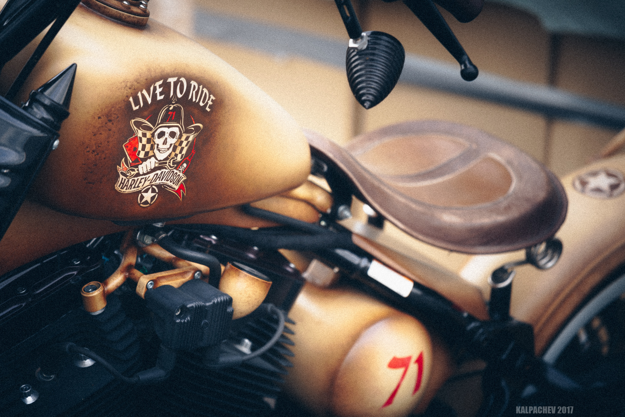 – Live to Ride –