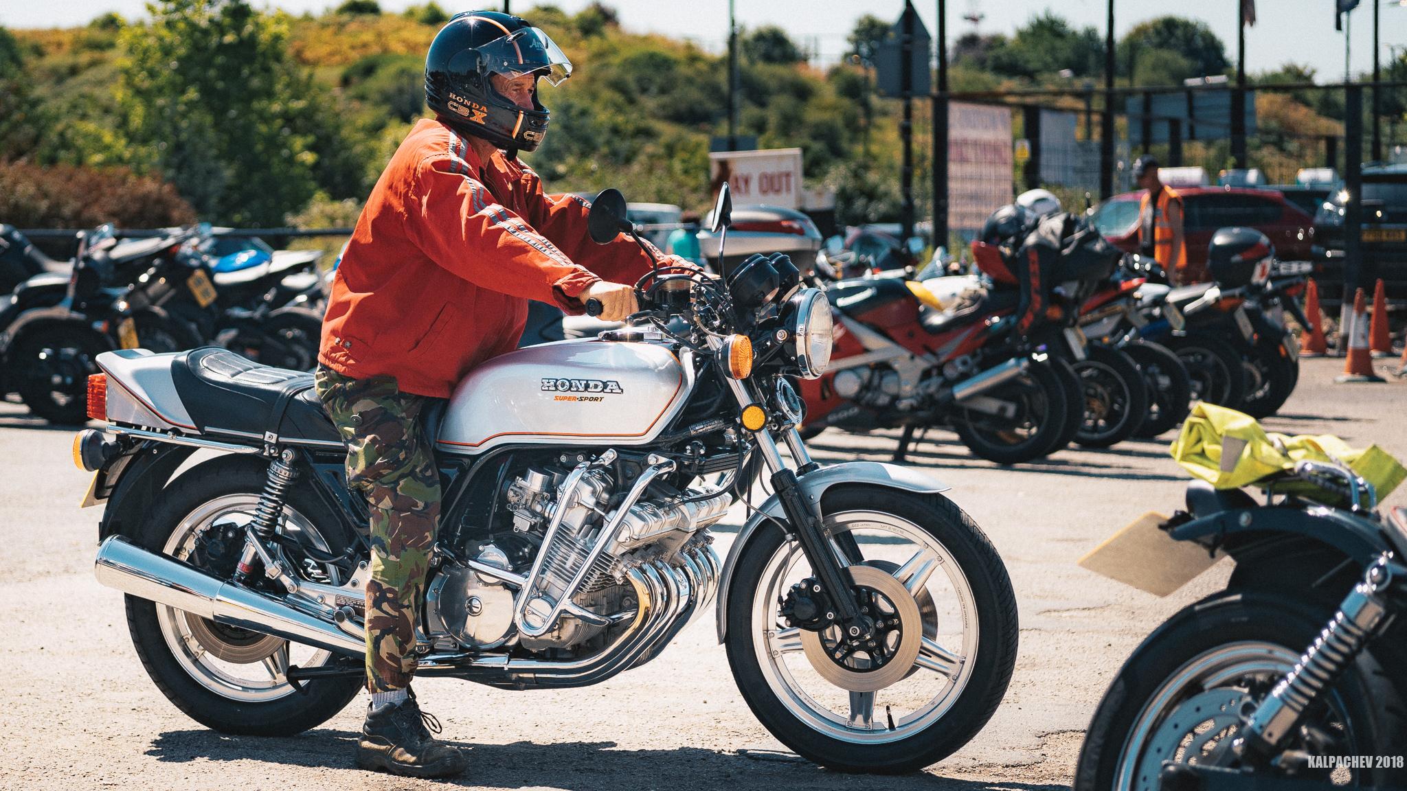 Ace Cafe London 70s bike day
