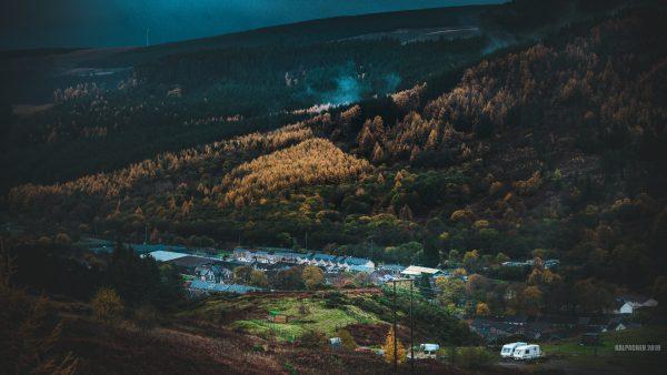 Tynewydd Rhondda valley