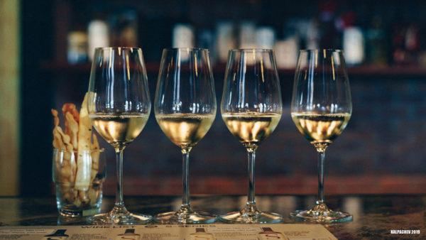 Wine tasting at Silverlake vineyard