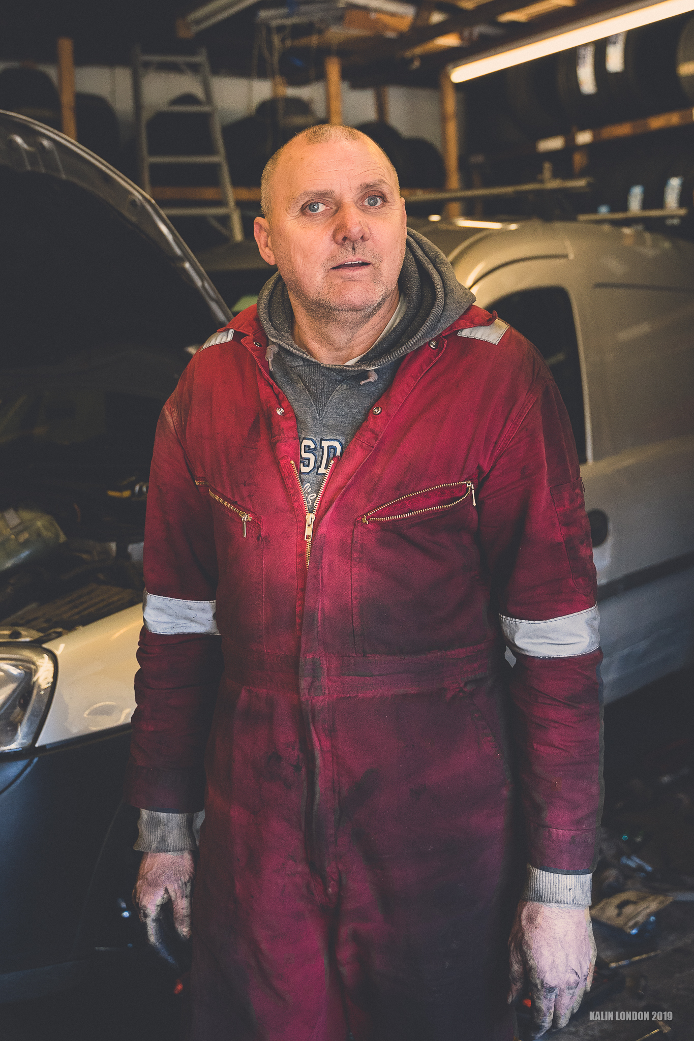 – My local mechanic –